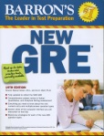 cover of the book Barron's New GRE, 19th edition