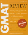 Cover of the book GMAT Review, 11th edition